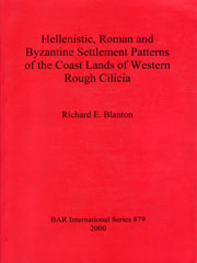 Settlement Patterns of Western Cilicia - Richard E. Blanton